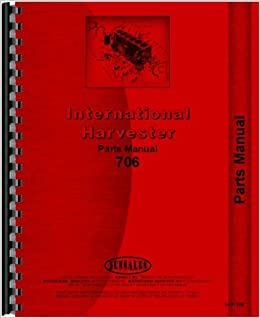 farmall 706 tractor parts manual (gas, lp & diesel only) plastic comb – 2010