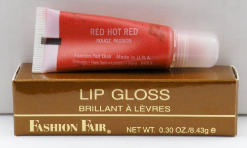 Fashion Fair Lip Gloss - Red Hot Red 8822 (Fashion Fair Lip Gloss)