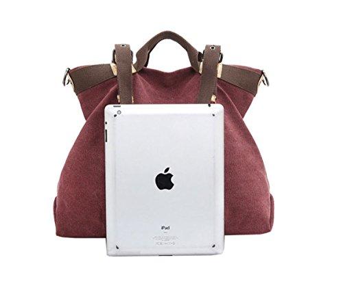 Handbags Hobo Shoulder Tote Vintage Canvas Women Bags bags Handle Blue Shopping Crossbody Top WLE Casual nwqvf05WXX
