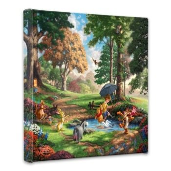 Thomas Kinkade Winnie the Pooh - cute Thomas Kinkade wall art