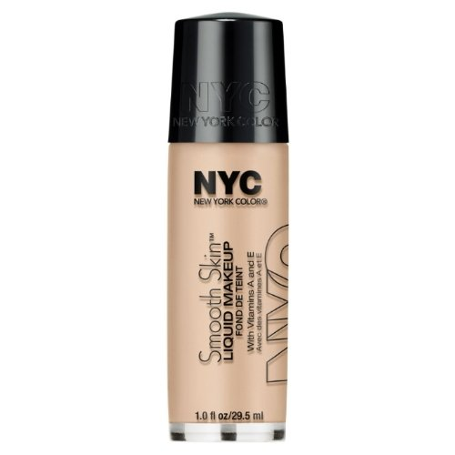 NYC Smooth Skin Liquid Makeup - Ivory (Liquid Vip Cosmetics)