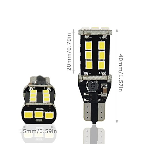 AUXITO-912-921-LED-Backup-Light-Bulbs-1000-Lumens-High-Power-2835-15-SMD-Chipsets-Extremely-Bright-Error-Free-T15-906-W16W-for-Back-Up-Lights-Reverse-Lights-6000K-White-Pack-of-2
