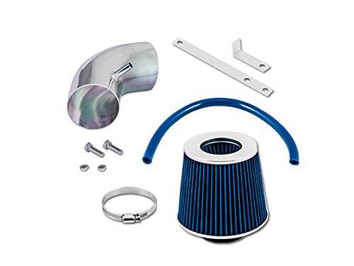 Velocity Concepts Blue Short Ram Air Intake Kit + Filter 03-06 Chrysler PT Cruiser 2.4 Turbo L4 (Blue Chrysler Intake System)