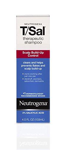 Neutrogena Therapeutic Shampoo 4.5 oz,  2 Pack Acid Shampoo