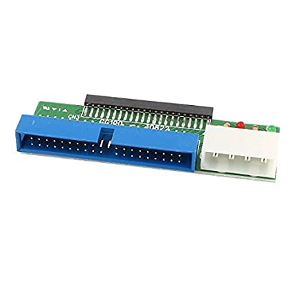 eDealMax IDE 43 Pines hembra a 39 Tarjeta de convertidor adaptador Masculino del Pin HDD Para