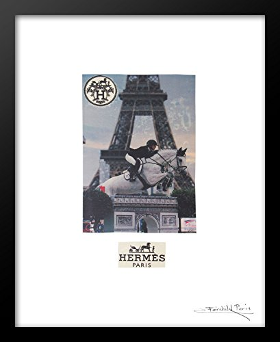 Fairchild Paris Hermes Vintage Ad Framed Art Print, 16