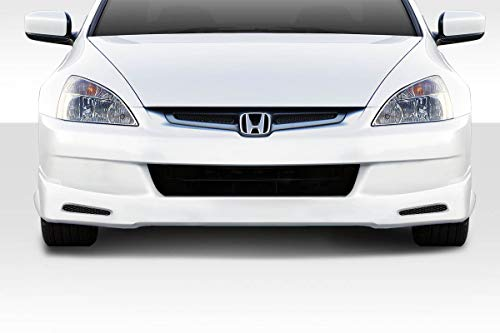 Duraflex ED-RRI-166 Fiberglass Type M Rear Lip/Add On - Compatible for Honda Accord 4DR 2003-2005 ()