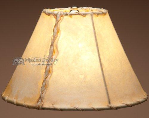 "Southwestern Rawhide Lamp Shade 12"""