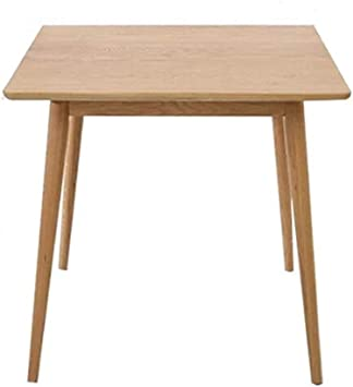 Amazon Com Nordic Simple Wood Dining Table Small Apartment