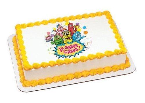 1/4 Sheet ~ Yo Gabba Gabba! Party Time Birthday ~ Edible Image Cake/Cupcake Topper!!!