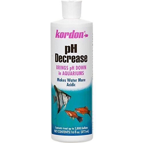 KORDON #35326 pH Decrease Adjuster for Aquarium, 16-Ounce