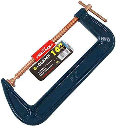 Heavy Duty G Clamp 10 Copper Plated