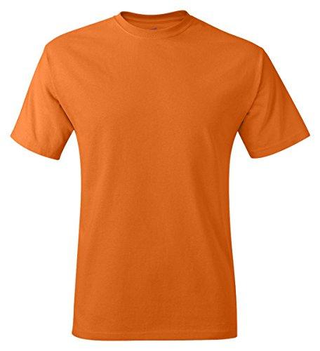 Tagless® shirt T Athletic Hanes Orange Men`s 604q1wO