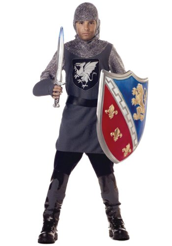 Valiant Knight Childrens Costumes (California Costumes ' Valiant Knight Costume X-large (12-14))