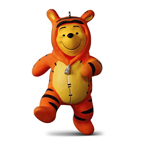 Hallmark Keepsake Christmas Ornament 2018 Year Dated, Disney Winnie the Pooh Costume, and Tigger Too ()