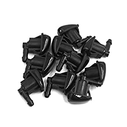uxcell Front Windshield Wiper Water Spray Jet Washer Nozzle 10pcs Fits for Mitsubishi