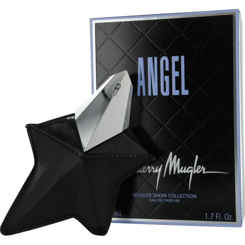 Angel by Thierry Mugler Eau De Parfum Spray Refillable for Women (Collectors Edition), 1.7 Ounce