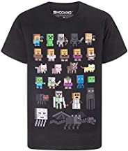 Minecraft Sprites - playera para niño