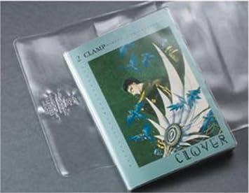 (10) 7 Inch Brodart 7 Mil Clear Vinyl Slip Covers   Heavy Duty