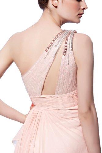 Orifashion - Vestido - Asimétrico - para mujer