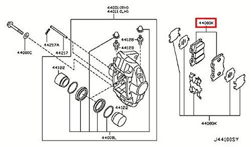 infiniti fx50 brake pad  brake pad for infiniti fx50