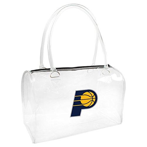 Small Bowler Handbag (NBA Indiana Pacers Clear Bowler Handbag)