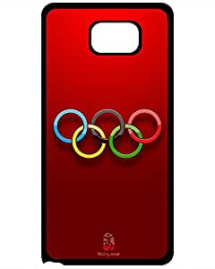 MLB Iphone Cases's Shop Best 9286452ZF710047045NOTE5 Hot Premium Case With Scratch-resistant/ Olympic Games olympic Case Cover For Samsung Galaxy Note 5
