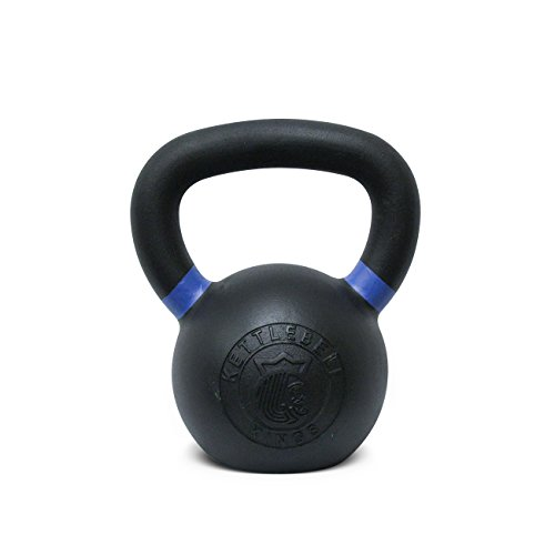 Kettlebell Kings | Powder Coat Kettlebell | Best Kettlebell for Crossfit, Strength Training & Hiit Workouts (12 KG)