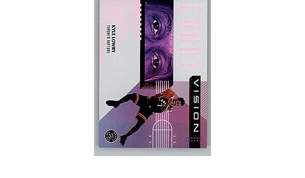 Amazon.com: 2018-19 Panini Status Court Vision #6 Kyle Lowry Toronto Raptors NBA Basketball Trading Card: Collectibles & Fine Art