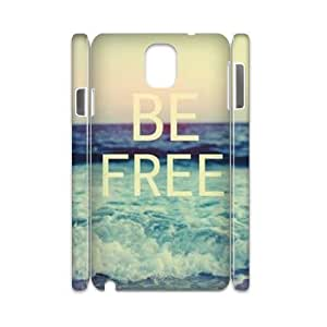 Be Free Customized 3D Cover Case for Samsung Galaxy Note 3 N9000,custom phone case ygtg581384