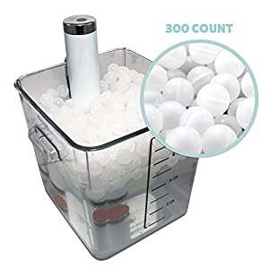 300 Premium Sous Vide Cooking Water Ball Blanket