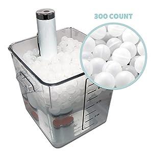 300 Premium Sous Vide Cooking Water Ball Blanket
