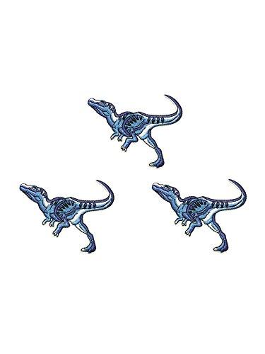 Utah Raptor Dinosaur Theme Jurassic Park World - Fallen Kingdom 3 Pack - 4.25