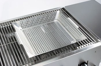 Crown Verity Stainless Steel Grill - Crown Verity Stainless Steel Veggie/Fish Tray