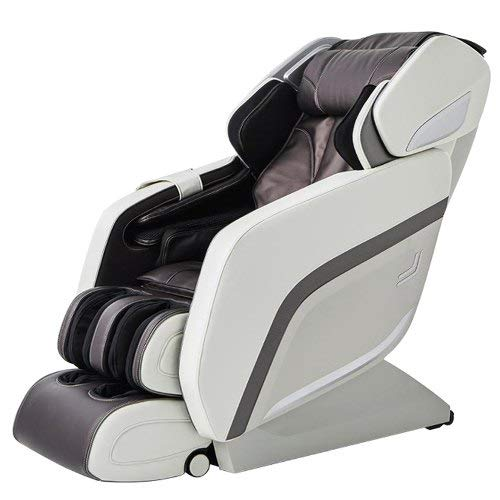 Relife Glamego 3D Luxury Full Body Massage Chair with Duplex sliding foot roller (RL 7805SL) -WHITE