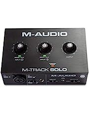 M-Audio M-Track Solo Kayıt Stream ve Podcast uygulamaları için ideal ses kartı