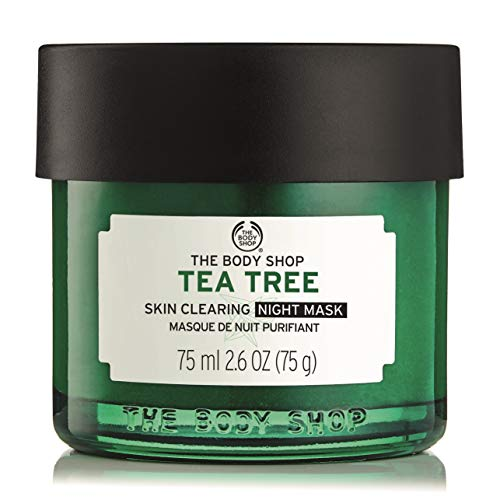 (The Body Shop Tea Tree Anti-Imperfection Night Mask, 2.6 Fl Oz (Vegan))