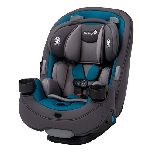 Safety 1st Grow and Go 3-in-1 Convertible Car Seat, Blue Coral (Best Infant Car Seat For Small Cars)