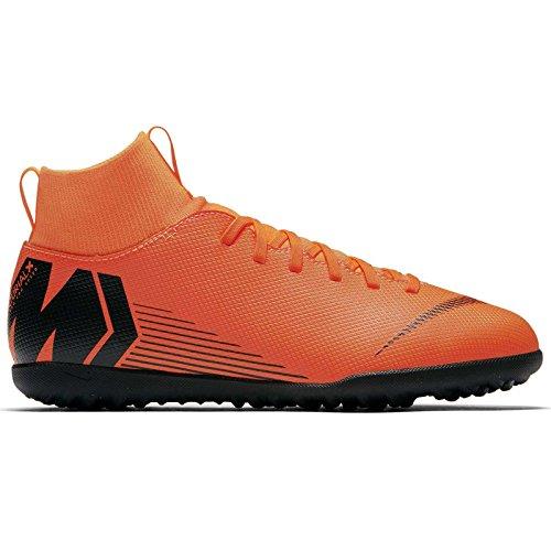 Nike Jr Superflyx 6 Club TF, Zapatillas de Fútbol Unisex Niños Naranja (Total Orangeblacktotal Orang 810)
