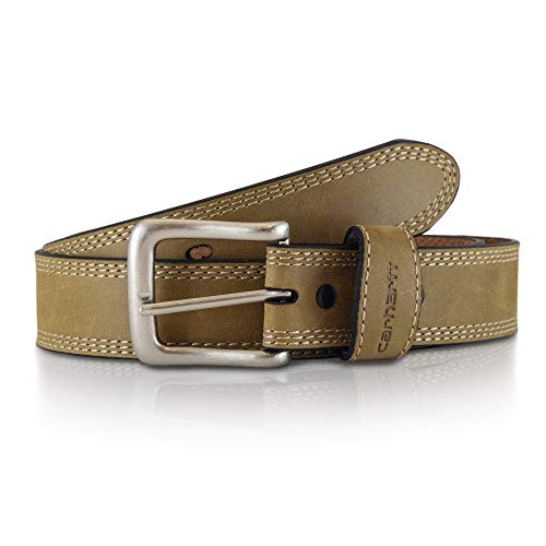 Carhartt Men's Signature Casual Belt, Detroit Brown, 40 ()
