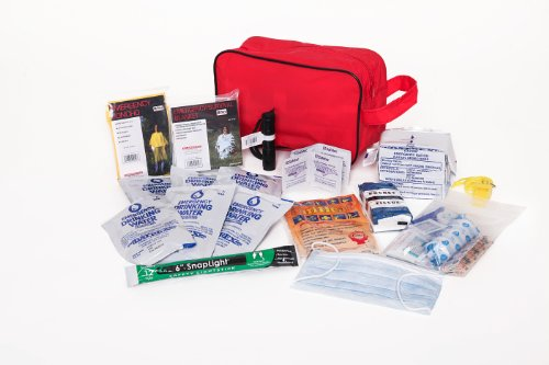 Compact Survival Kit Containing Essential Items Needed to Survive 72 Hours After Any Natural or Man Made Disaster