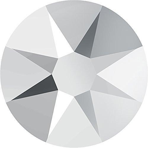 2000, 2058 & 2088 Swarovski Flatback Crystals Non Hotfix Crystal Light Chrome   SS30 (6.4mm) - 40 Crystals   Small & Wholesale Packs