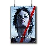 Penny Dreadful TV Series Poster Small Prints 616-013 Vanessa Ives Eva Green,Wall Art Decor for Dorm Bedroom Living Room (A4|8x12inch|21x29cm)