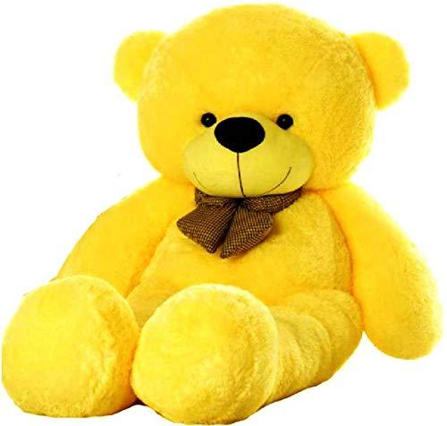 RTX Teddy Bear Soft Toys Animal  Yellow, 6 FEET 180 cm