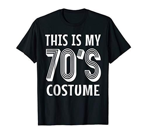 70s Costume Shirt for 1970s Halloween