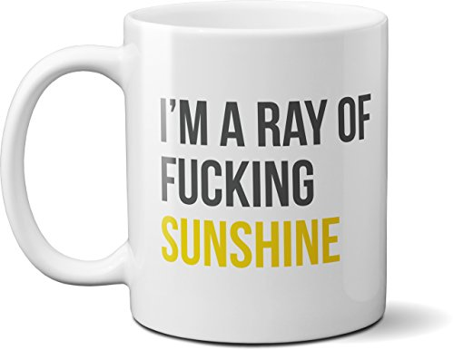 - I'm a Ray of Sunshine - Funny Coffee Mug - 11oz Ceramic Cup, Microwave & Dishwasher Safe, Merchandise for Kitchen, Office, Gifts for Friends