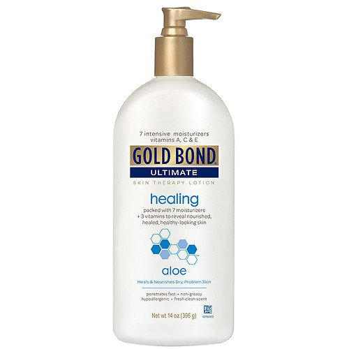 Gold Bond Ultimate Aloe Cream 14oz Pump (3 (Gold Bond Healing)