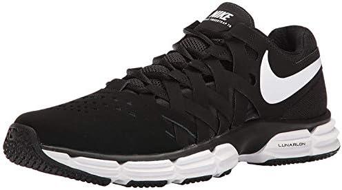 Nike Men's Lunar Fingertrap Cross Trainer, BlackWhite Black