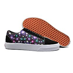 Pdaqs On The New Stars Stickers Women Canvas Shoes Oldskoo Training Shoes Low Top