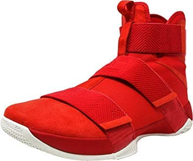 Nike Mens Lebron Soldier 10 SFG LUX (University Red/University Red, 9.5  D(M) US